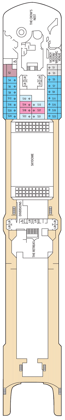 Arcadia deck plan cabin plan before 22 04 2015 for Arcadia deck plans