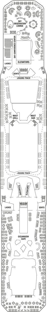 Celebrity Solstice Vista Deck Deck Plan - Celebrity ...