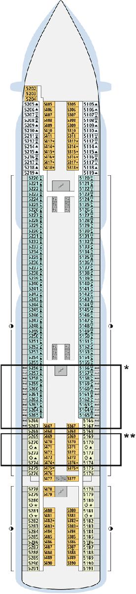 deckplan aidaprima