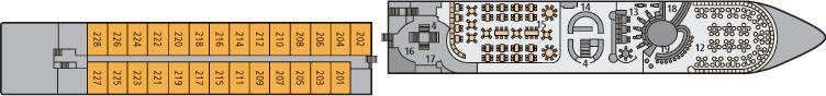 A-ROSA Luna Deck 2