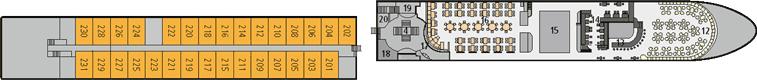 A-ROSA Silva Deck 2