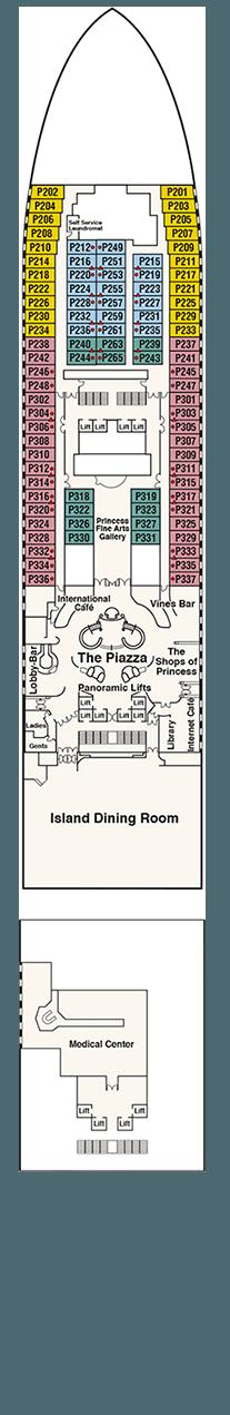 Caribbean Princess Plaza deck (5)