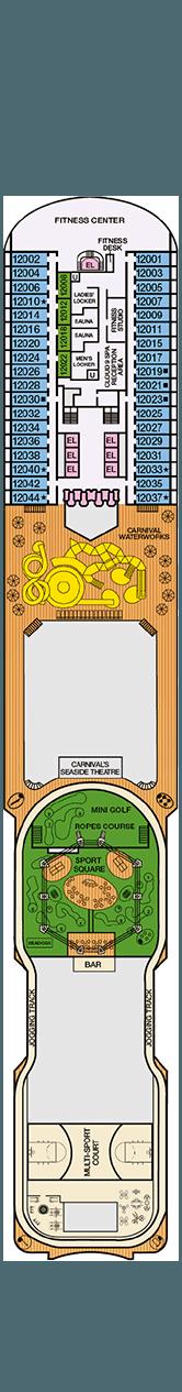 Carnival Magic Spa deck (12)