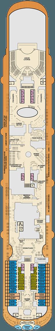 carnival vista deck plans pdf