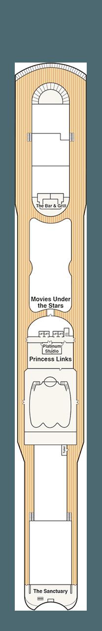 Coral Princess Sun deck (15)