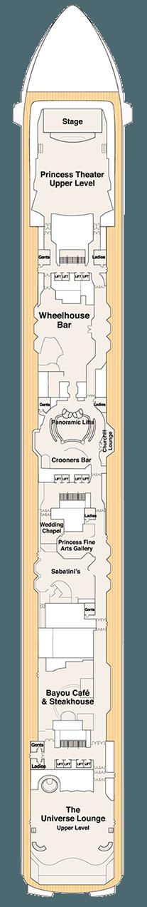 Coral Princess Promenade deck (7)