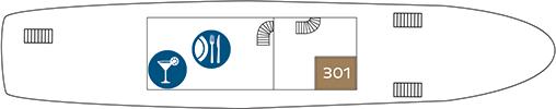 MS Dalmatia Promenadendeck-Deck (3)