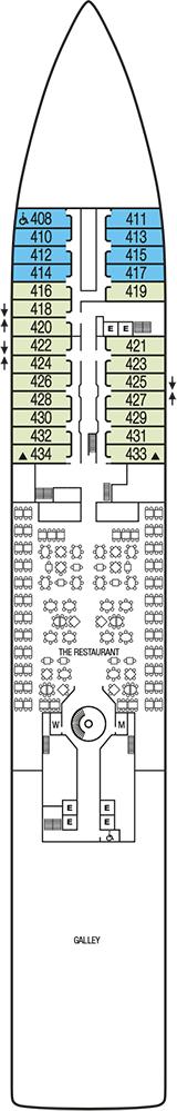Seabourn Sojourn Deck 4