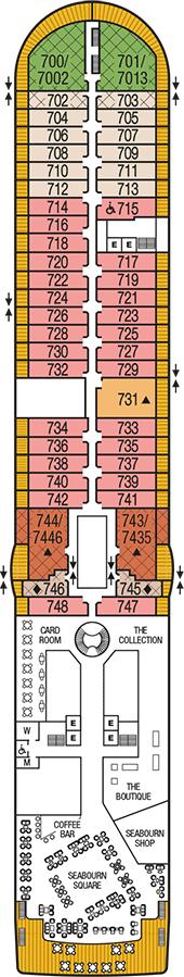 Seabourn Sojourn Deck 7