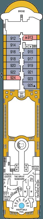 Seabourn Sojourn Deck 9