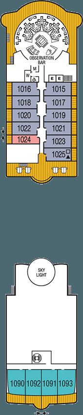 Seabourn Sojourn Deck 10