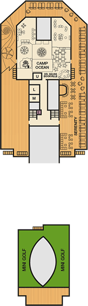Deck plan M/S Carnival Freedom from 30/05/2017
