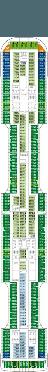 MSC Grandiosa Deck 11
