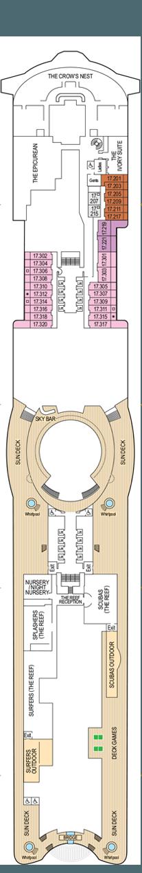 Iona Deck 17