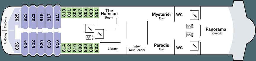 Midnatsol Deck 8