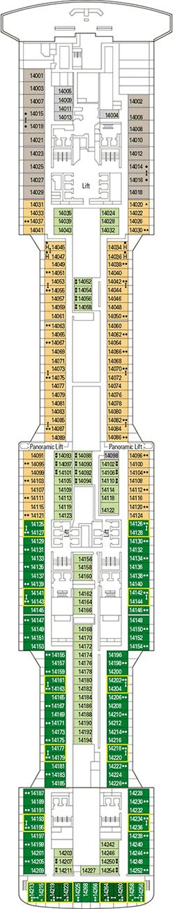Msc bellissima deck plan cabin plan for Deckplan msc splendida