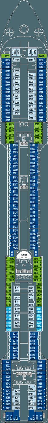 Msc divina deck plan cabin plan for Msc divina floor plan