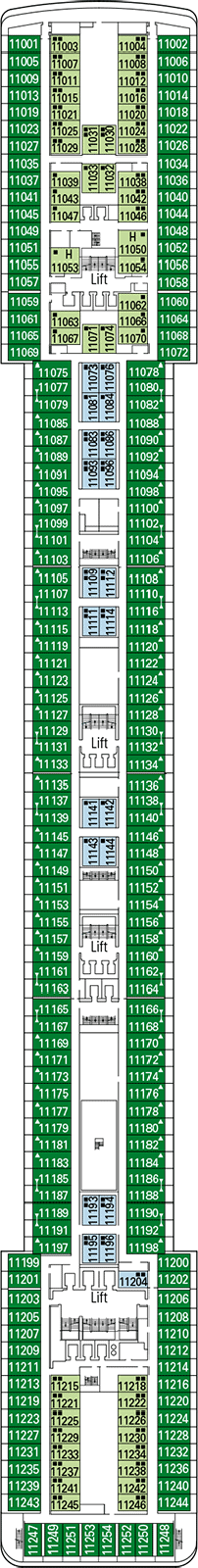 Msc Musica Deck Plan Amp Cabin Plan