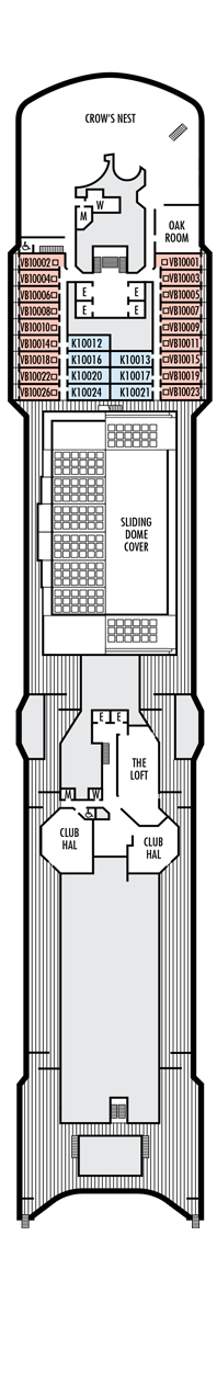 Noordam Observation deck (10)