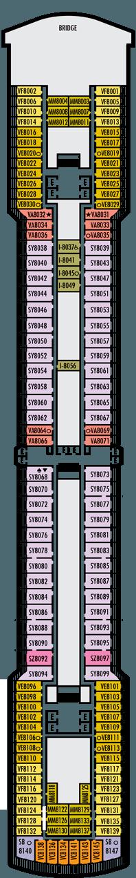 Noordam Navigation deck (8)