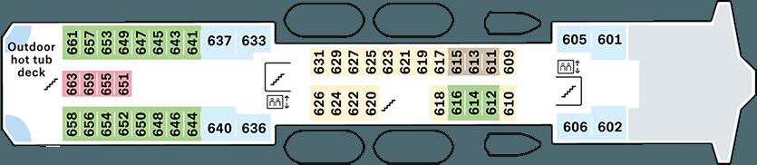 Nordkapp Deck 6