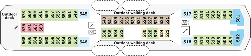 Nordnorge Deck 5