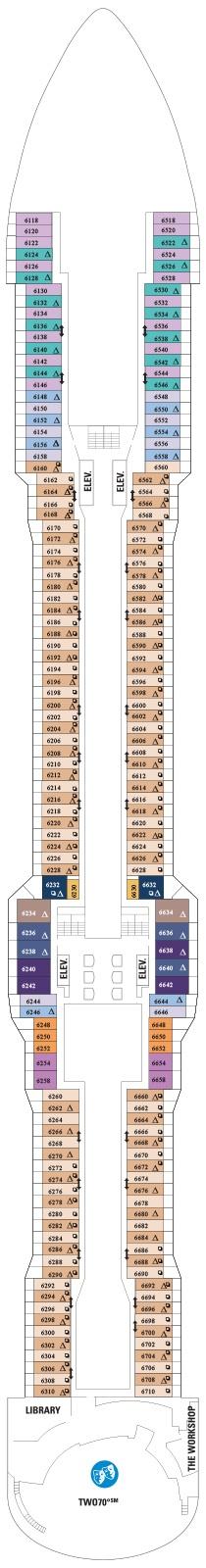 Quantum of the Seas Deck 6
