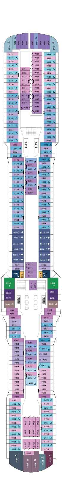 Quantum of the Seas Deck 9