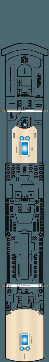 Queen Elizabeth Deck 9