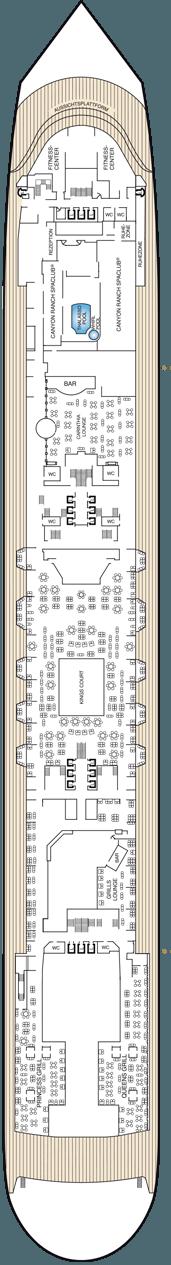 Queen Mary 2 Deck 7