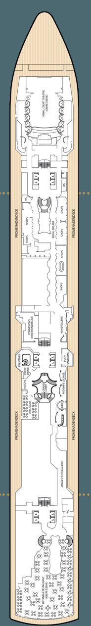 Queen Victoria Deck 3