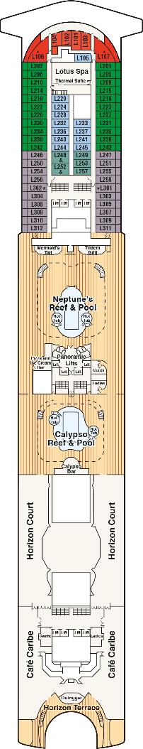 ruby princess deck plan \u0026 cabin planruby princess lido deck