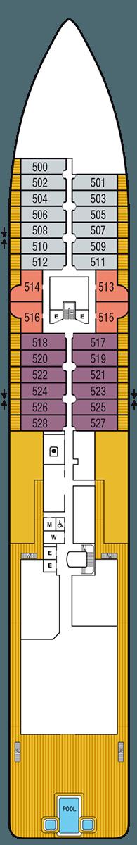 Seabourn Venture Deck 5