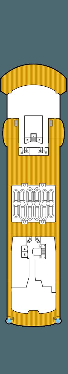 Seabourn Venture Deck 9