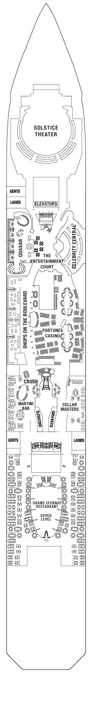celebrity silhouette deck plan pdf