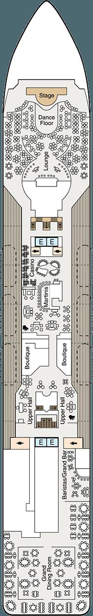 Oceania Sirena Deck Plan Amp Cabin Plan