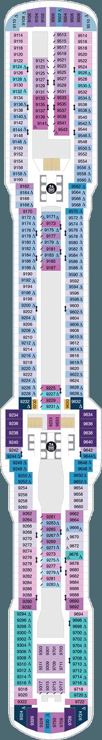 Spectrum of the Seas Deck 9