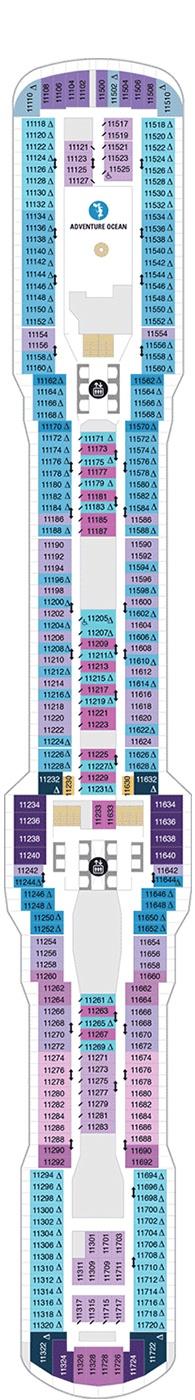 Spectrum of the Seas Deck 11