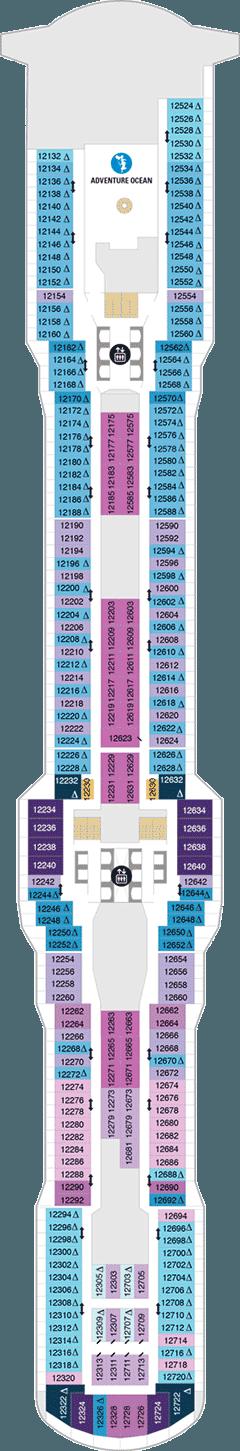 Spectrum of the Seas Deck 12