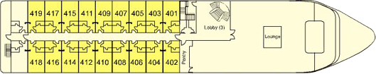 MS Steigenberger Legacy Deck 4