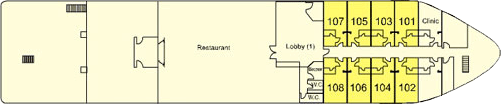 MS Steigenberger Legacy Lower Level-Deck (1)