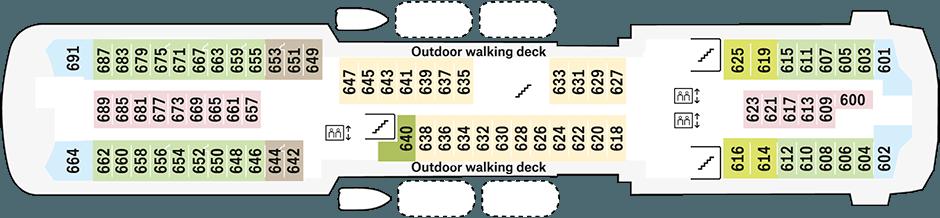 Trollfjord Deck 6