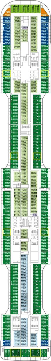 MSC Virtuosa Deck 11
