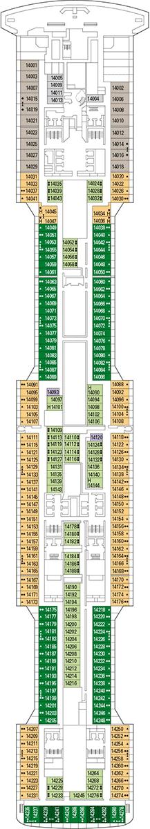 MSC Virtuosa Deck 14