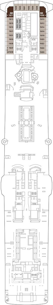 MSC Virtuosa Deck 15