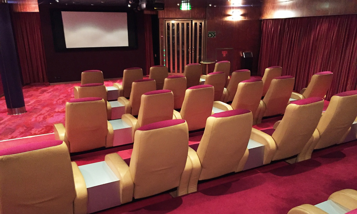 Image result for Oosterdam Screening Room