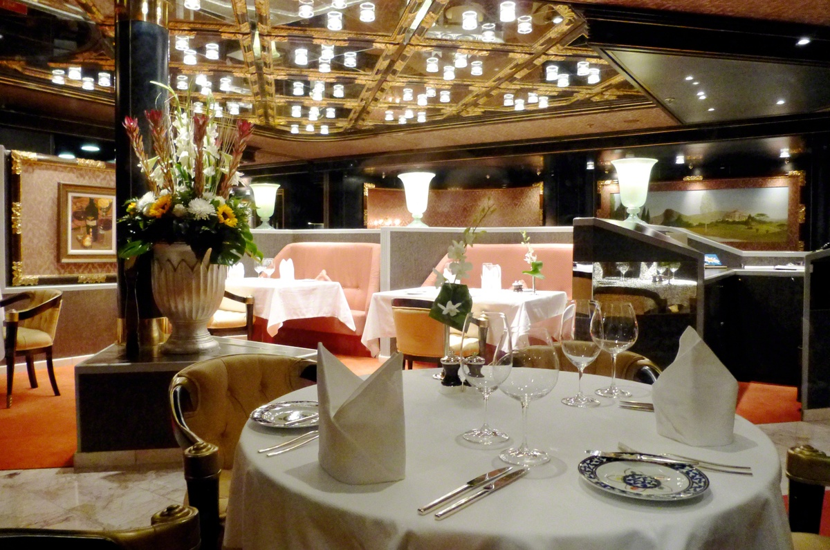 MS Rotterdam Holland America Line - Pinnacle grill