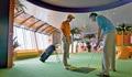 AIDAdiva Golfsimulator