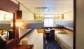 Astor Oceanview Stateroom pullman beds