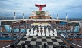 Carnival Freedom Lido Deck chess